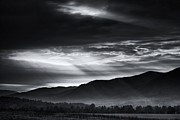 Cades Cove Photo Posters - Light from Above Poster by Andrew Soundarajan