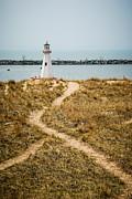 Paul Velgos - Lighthouse in New Buffalo Michigan