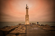 Lighthouse Print by Okan YILMAZ