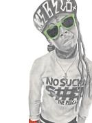 Lil Wayne Print by Michael Durocher