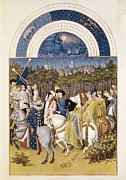 Miniatures Art - Limbourgjean Ca. 1370-1416 by Everett