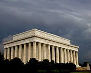 Cindy Wright Prints - Lincoln Memorial Print by Cindy Wright