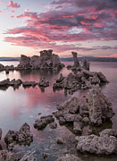 Pink Dawn Prints - Listen to the Sound Print by Jon Glaser