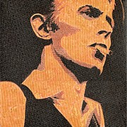 Bowie Mixed Media - Literally David Bowie by Gary Hogben