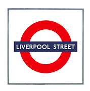 Liverpool Posters - Liverpool Street  Poster by Semmick Photo