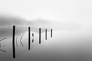 Boat House Prints - Loch ard early mist Print by John Farnan