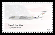 Usaf Framed Prints - Lockheed C-141B Starlifter Golden Bear Framed Print by Arthur Eggers