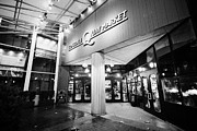 North Vancouver Metal Prints - lonsdale quay market shopping mall north Vancouver BC Canada Metal Print by Joe Fox