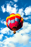 Balloon Aircraft Prints - Looking Up Print by Robert Bales