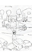 People Drawings Originals - Lot by Samuel Zylstra