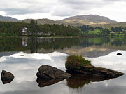 Watson Lake Prints - Lough Eske Reflections Print by Steve Watson