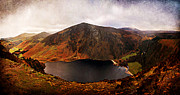 Lough Prints - Lough Tay / Wicklow Print by Barry O Carroll