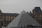 Horizontal Photo Prints - Louvre - Paris France - 01133 Print by DC Photographer