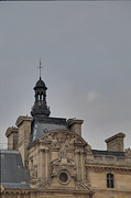 Vertical Photo Prints - Louvre - Paris France - 01135 Print by DC Photographer