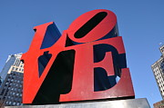 Love Statue Prints - Love Print by Bill Cannon