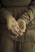 Old Hands Photos - Love Letters by Edward Fielding