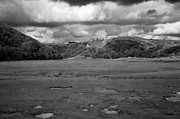 Large Format Prints - Lowering clouds over Pennard Castle Print by Paul Cowan
