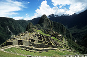 Andean Prints - Machu Picchu Panorama Print by James Brunker