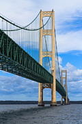 Mackinac Bridge Print by Cindy Lindow