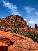 Hills Photos - Madonna and Child Two Nuns Rock Formations Sedona Arizona by Amy Cicconi