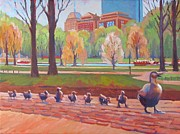 Dianne Panarelli Miller - Make Way for Ducklings