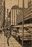 Lino Originals - Manhattan by William Cauthern