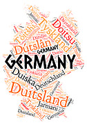 Bruce Nutting - Map of Germany