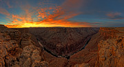 Marble Canyon Sunrise Print by  Reid Helms