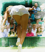 Maria Sharapova  Print by Don Kuing