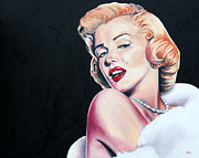 Classic Hollywood Originals - Marilyn Monroe by Annalise Kucan