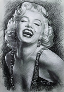 Sex Symbol Prints - Marilyn Monroe Print by Viola El