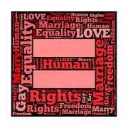 Homosexual Prints - Marriage Equality for All Print by Amy Cicconi