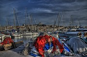 Provence Photo Metal Prints - Marseille Metal Print by Karim SAARI