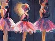 Child Ballerinas Prints - Masquerade Print by Kimberly Santini