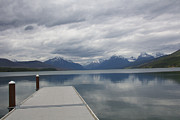 Apgar Posters - McDonald Lake - Apgar  Poster by June Hatleberg Photography