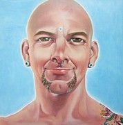 Macho Paintings - Me by Michael Flynt