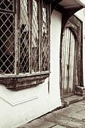 Frame House Photos - Medieval house by Tom Gowanlock