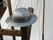 Ion vincent DAnu - Medieval Riveted Iron Helmet