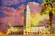 University City Framed Prints - Medina of Marakkesh Framed Print by Catf