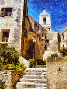 Church Photos - Mediterranean steps by Pixel Chimp