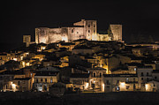 Frederick Pyrography Prints - Melfi by night Print by Gianluca Pisano