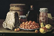 Interior Still Life Photo Metal Prints - MelÉndez O MenÉndez, Luís 1716-1780 Metal Print by Everett