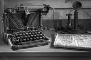 Typewriters Photos - Memories by Debra and Dave Vanderlaan