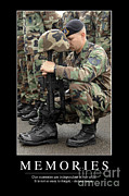 Fallen Soldier Photos - Memories Inspirational Quote by Stocktrek Images