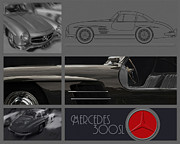Curt Johnson - Mercedes Benz 300SL...