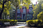 Jeff Holbrook Metal Prints - Mercer Williams House Metal Print by Jeff Holbrook