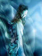 Mermaid Print by Viaina