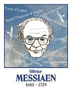 Messiaen Print by Paul Helm