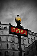 Metro Art Photo Framed Prints - Metro Framed Print by Ryan Wyckoff