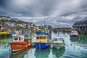 Chris Thaxter - Mevagissy Harbour